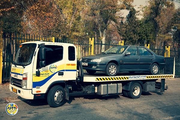 حمل خودرو به گلستان