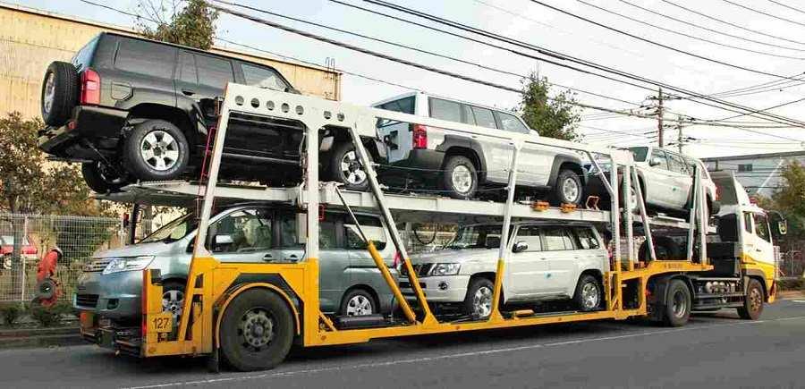 حمل خودرو با خودرو بر