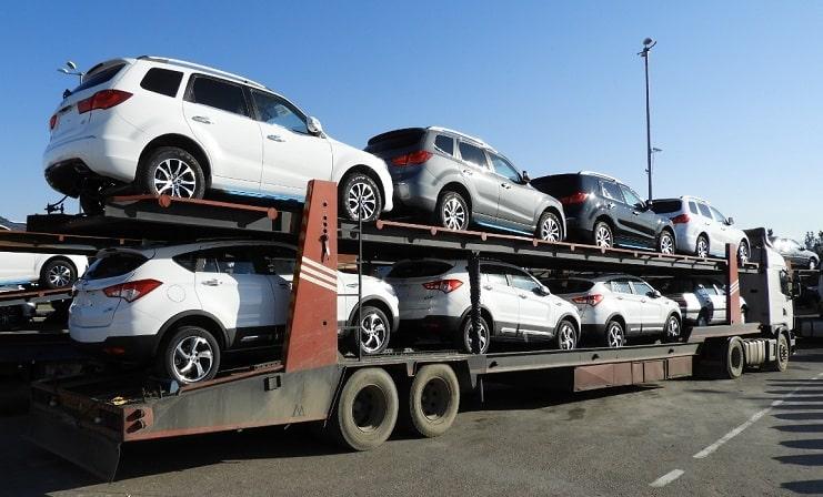ارسال خودرو به اردبیل به صورت چندتایی
