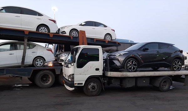 تریلی خودروبر تهران به بوشهر