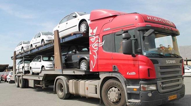 تریلی خودروبر تهران به گنبدکاووس