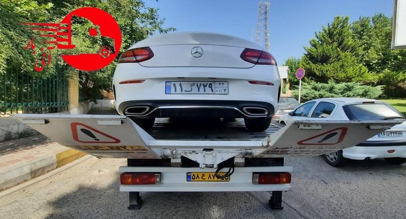 ارسال خودرو به تمام نقاط کشور