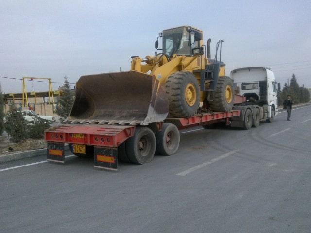 ارسال خودرو سنگین با تریلی خودروبر