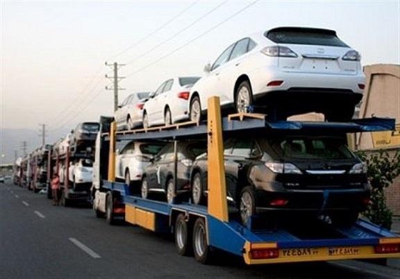 تریلی خودروبر تهران به میبد