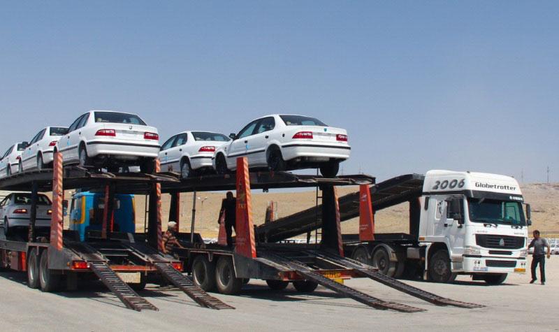 حمل خودرو به یزد با خودروبر تریلی